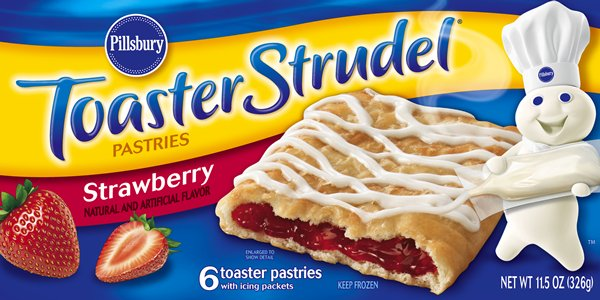 uh toaster strudel package