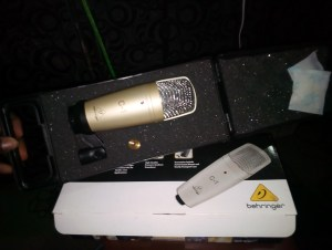 , N18,000 Behringer C1 Condenser Studio Mic With Mic Box for sale in Oshodi Lagos, REAL MONEY STUDIO