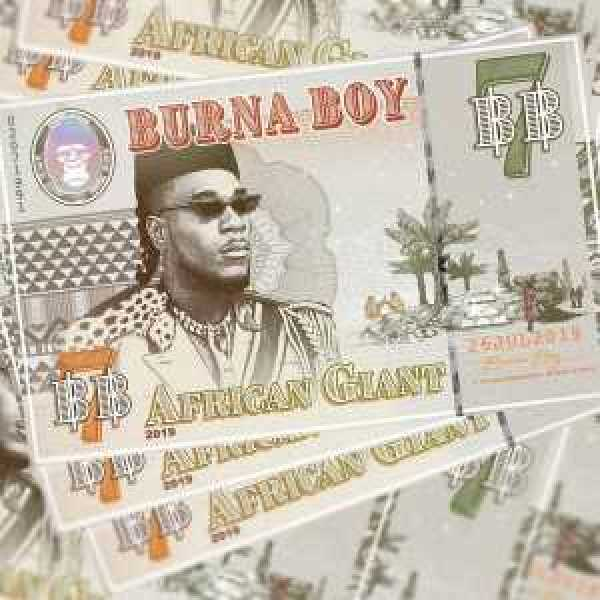 Instrumental African Giant by Burna Boy, Instrumental – African Giant by Burna Boy (Prod. By Oviethecreator), REAL MONEY STUDIO