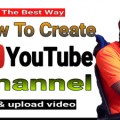 How to create YouTube channel 1