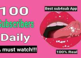 100 subscribers daily 2