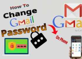 How to change Gmail Password on phone