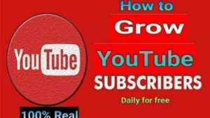 How to Grow YouTube subscribers | How to Get subscribers | Sub4sub website