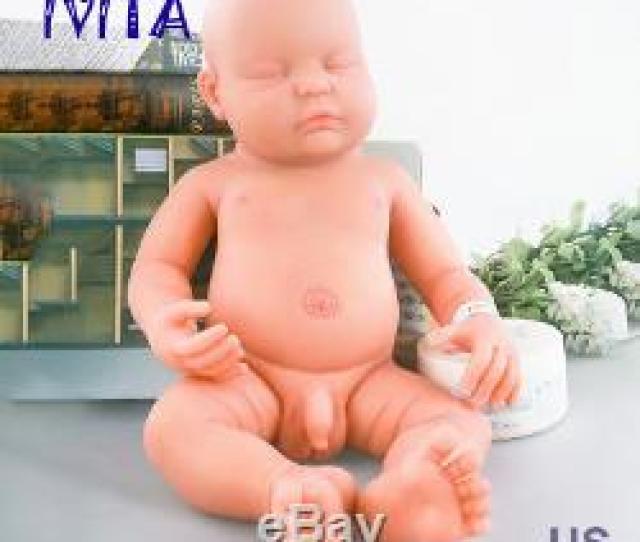 Ivita   Full Body Soft Silicone Reborn Baby Boy Real Doll Sleeping Baby