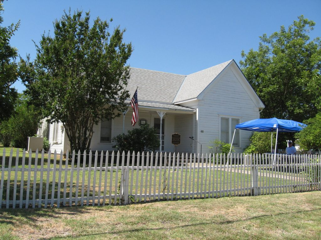 The Robert E. Howard House in Cross Plains, TX.