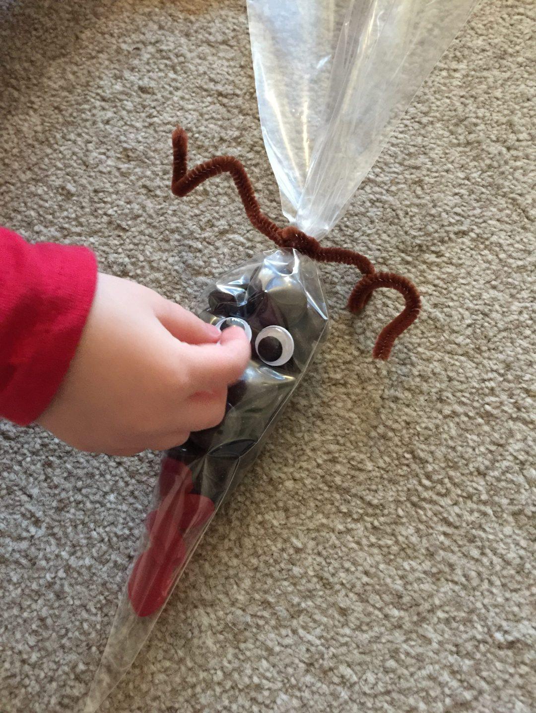Rudolf Reindeer Sweet Cone