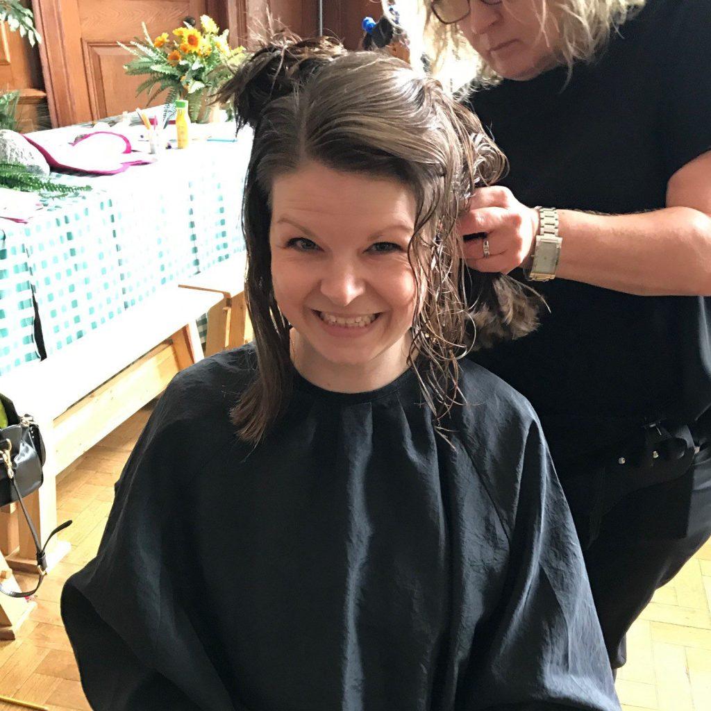 Little princess trust hair donation.