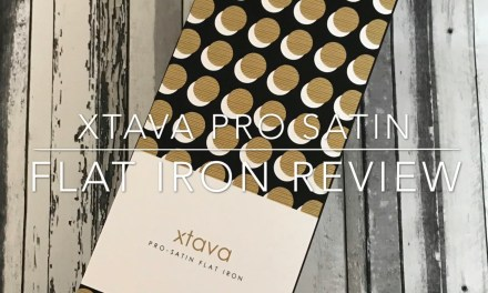 REVIEW & GIVEAWAY – Xtava Pro-Satin Flat Iron Straighteners