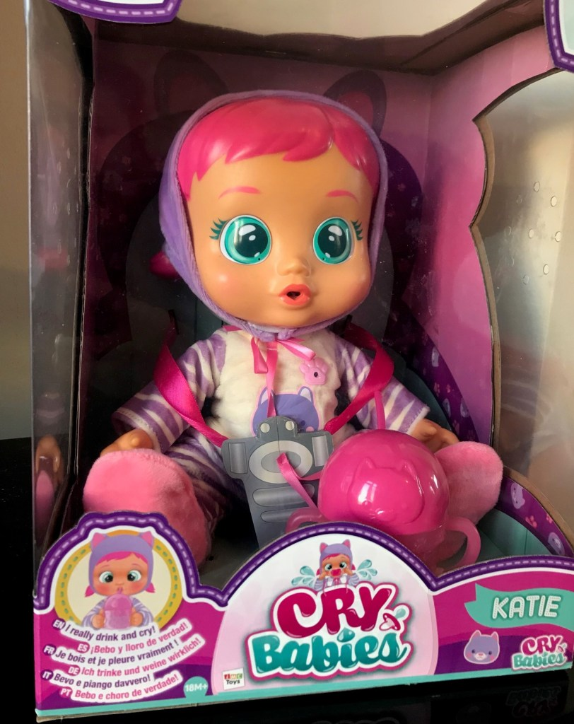 cry babies katie in the packaging