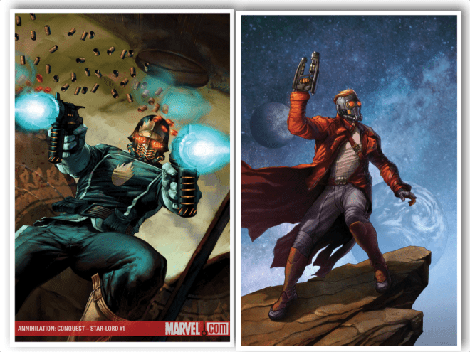 The Old Starlord and the New Starlord.