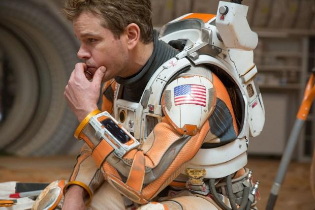Matt Damon Stuck in space...again
