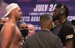 Tyson Fury - Deontay Wilder 3. Intensywny face to face!