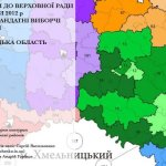 Мажоритарні округи карта