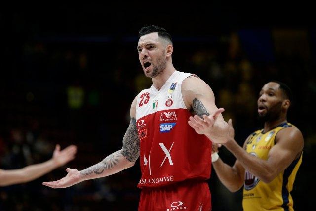 Khimki vs Olimpia Milano | Burns escluso per turnover