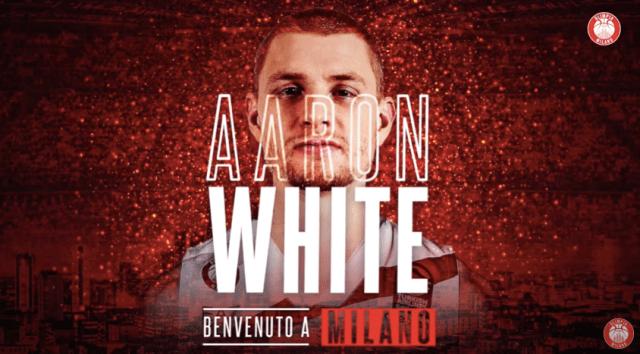 Olimpia Milano ufficializza Aaron White