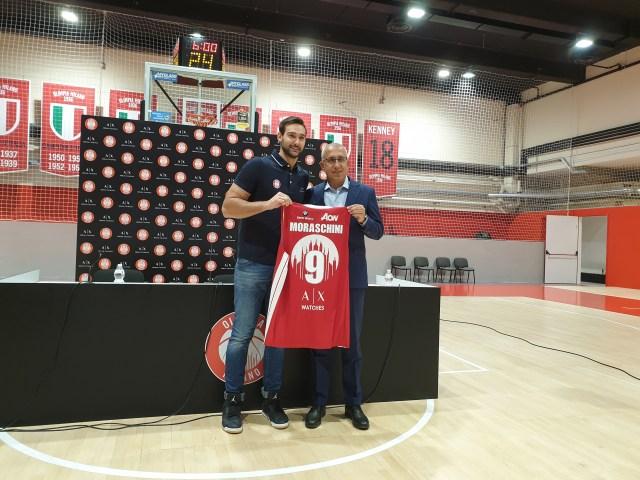 Olimpia Milano, si presenta Riccardo Moraschini: Qui per sentire la pressione dei grandi club