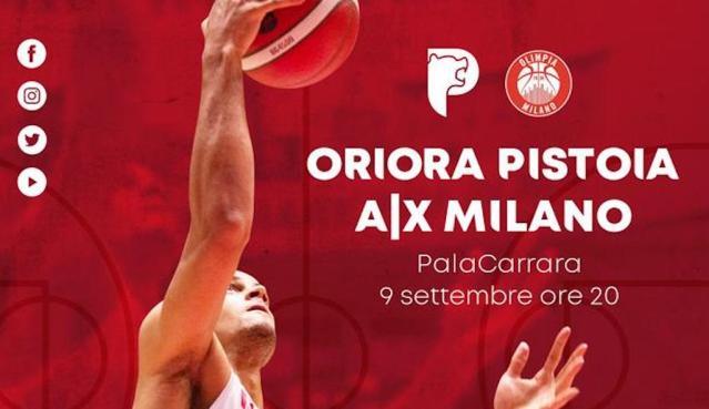 Olimpia Milano a Pistoia | Tutto su OriOra, diretta streaming e biglietteria