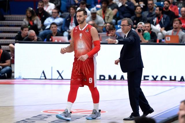 Olimpia Milano miglior squadra da 2, quarta prestazione di sempre per Moraschini