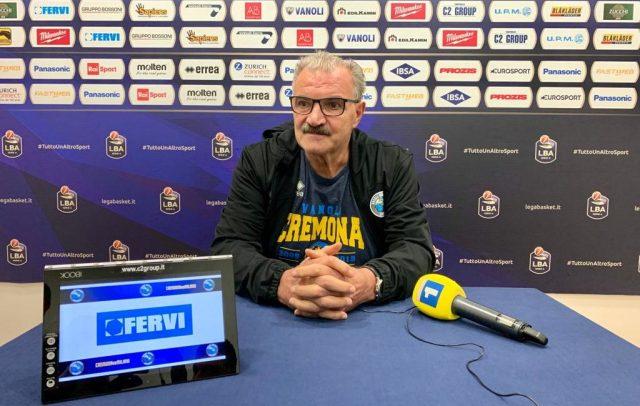 Cremona vs Olimpia Milano | Sacchetti: Al massimo, ma può non bastare