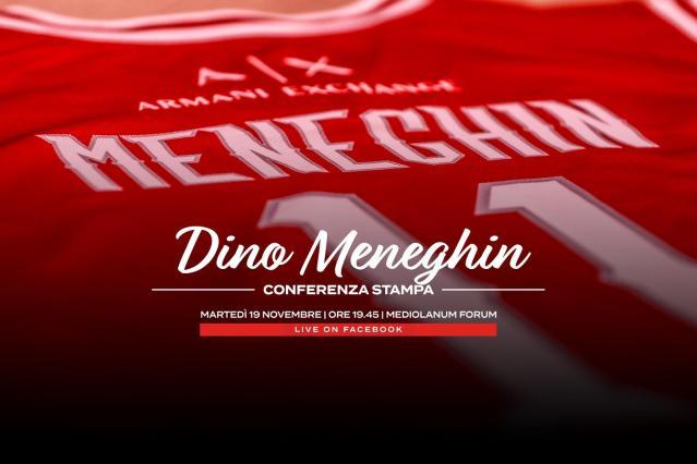 Dino Meneghin Night | Il 19 novembre presente anche Jordi Bertomeu