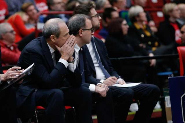 Ettore Messina: Una partita concreta, stiamo crescendo in difesa