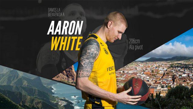 Aaron White è un giocatore di Tenerife sino al termine della stagione