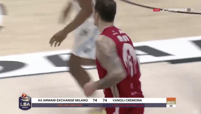 Vlado Micov la decide così contro Cremona!!!