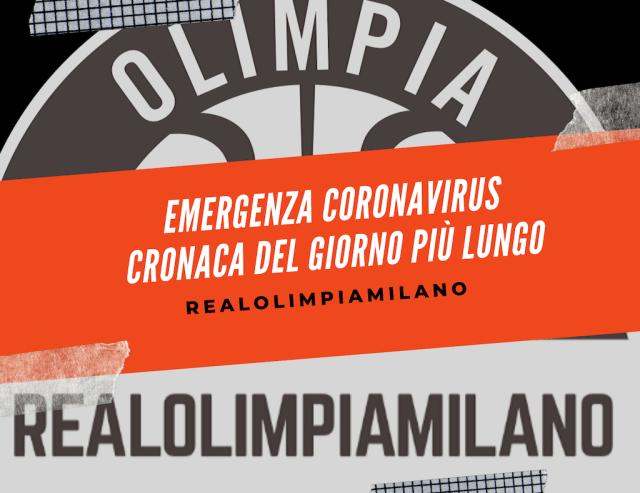 Olimpia Milano Coronavirus