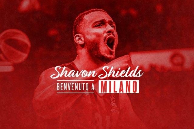 UFFICIALE – Shavon Shields è un giocatore di Olimpia Milano