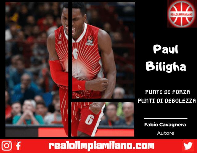 Un semplice giudizio sul roster Olimpia Milano | Paul Biligha