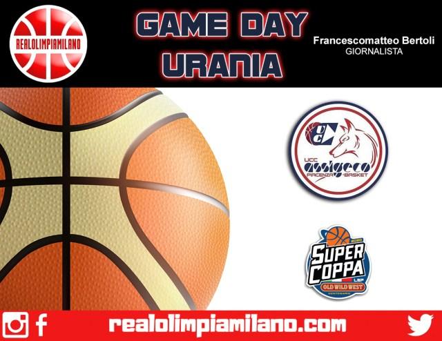 Piacenza vs Urania Wildcats  In campo alle ore 18 al PalaBanca
