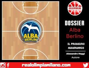 Dossier Olimpia Milano vs Alba