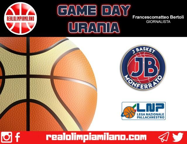Junior Casale vs. Urania Milano|In campo alle ore 18 al PalaFerraris