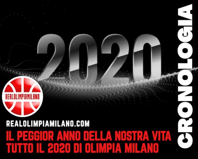 Il 2020 di Olimpia Milano