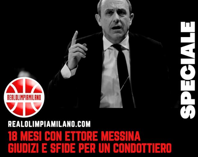 Ettore Messina Olimpia