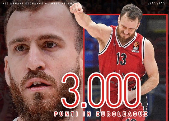 Sergio Rodriguez supera quota 3000 punti in carriera in EuroLeague