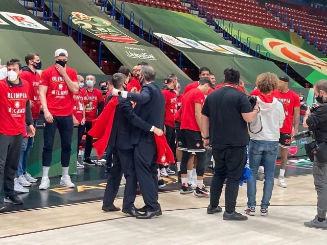 Giovanni Malagò: Applausi a scena aperta per l'Olimpia Milano