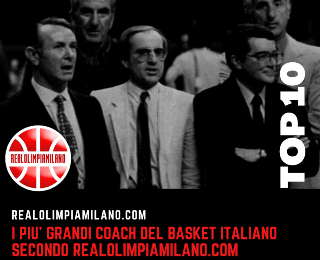 Top 10 Coach Basket italiano