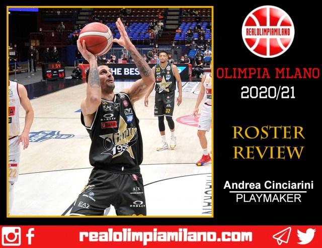 Olimpia, cosa resta della stagione 2020/21: Andrea Cinciarini