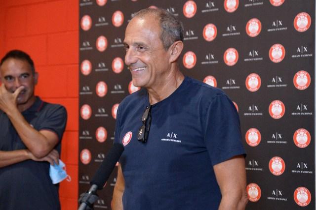 Conferenza stampa Ettore Messina