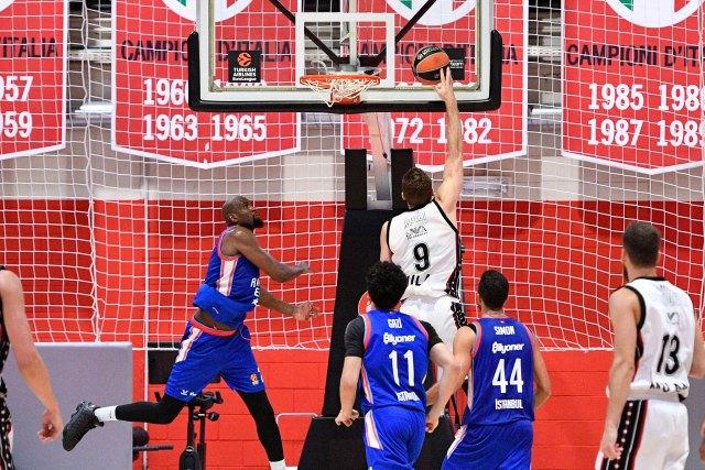Olimpia Milano vs Efes: Il Tabellino