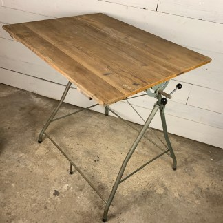 Pair of Victorian Heavy Industrial Cast Iron Machine Table