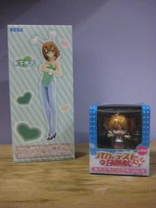 Hideyoshi figure next to Miharu