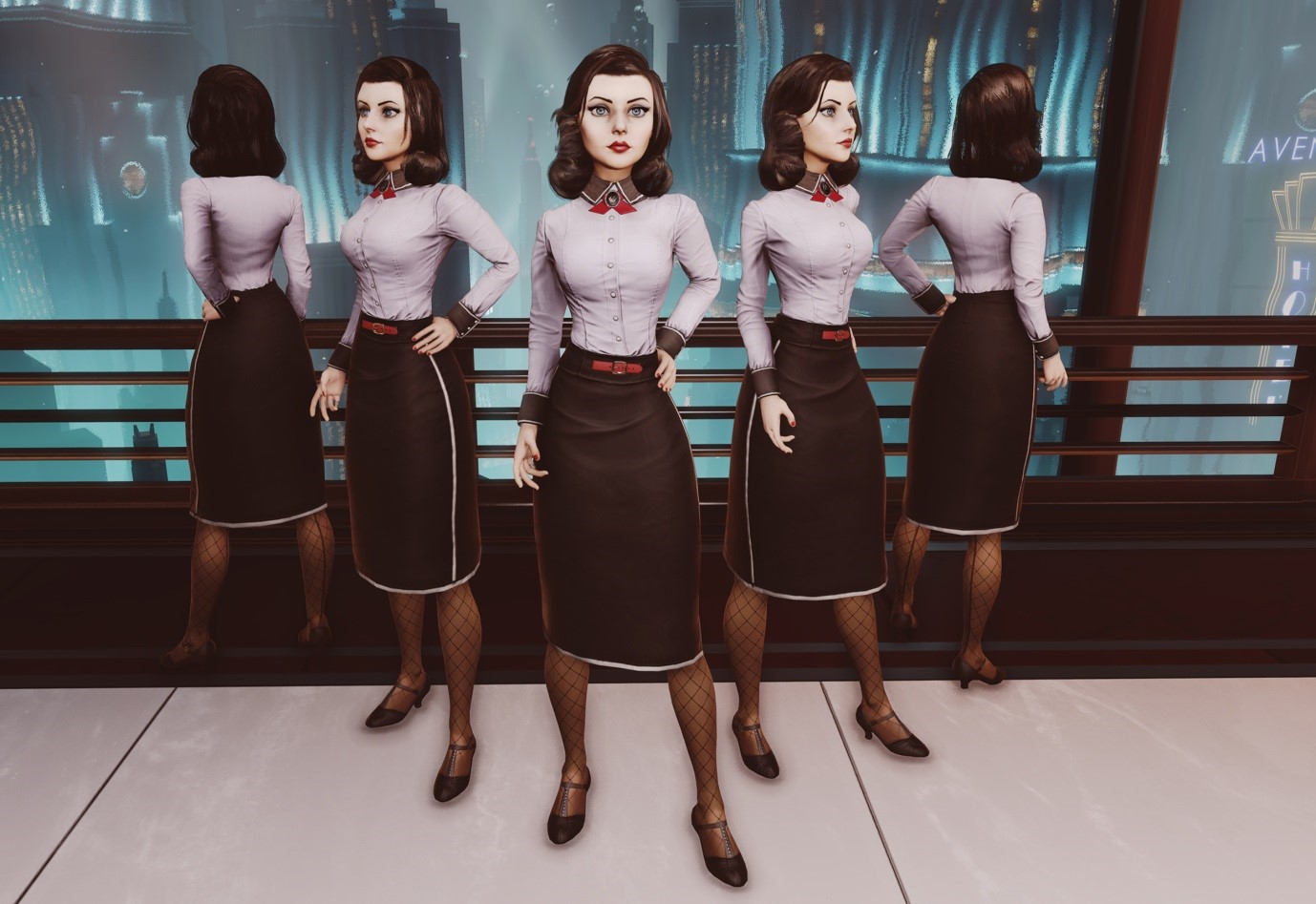 Elizabeth's Burial at Sea Outfit Analysis | REAL OTAKU GAMER ...