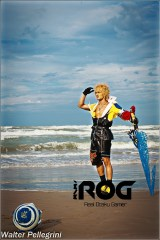 Leon Chiro's cosplay as Tidus from FFX
