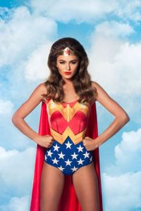 Wonder Woman BM Bathing Suit