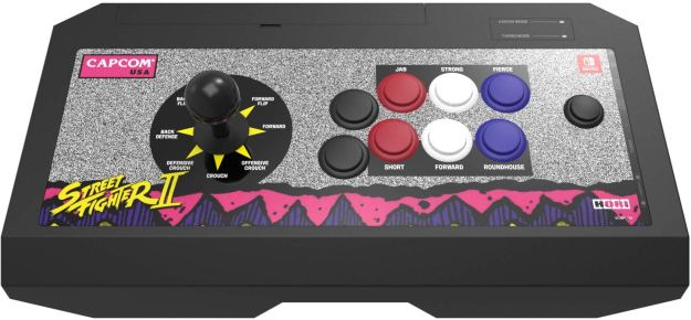 HORI releasing Street Fighter-branded arcade sticks for