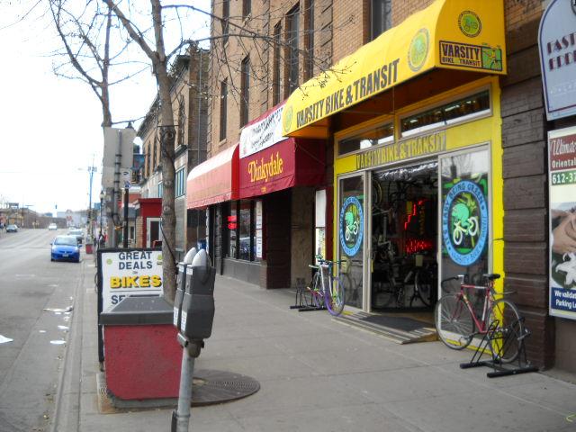 Original location of the Loft, 1302 Southeast 4th Street.  Photo by Rebecca Weaver