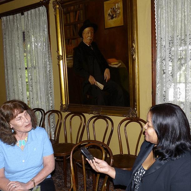 #Wren'sNest Program Director, Kalin Thomas, interviews Susannah Fullerton, President of the Jane Austen Society of Australia.