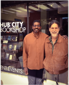 Fall for reading with Hub City founder, John Lane and visiting writer, Sheldon Johnson.